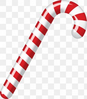 Christmas Candy - Candy Cane Stick Candy Ribbon Candy Eggnog PNG