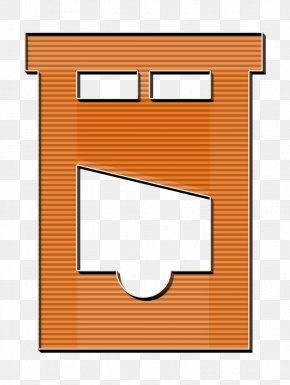 Rectangle Off Icon - Cut Icon Guilotine Icon Halloween Icon PNG