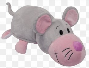 Stuffed Toy - Pink Cat Stuffed Animals & Cuddly Toys Computer Mouse Amazon.com PNG