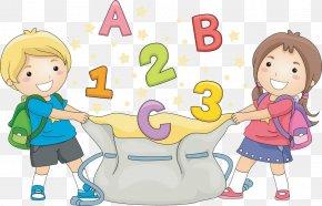 Kids Spree - Child School Clip Art PNG