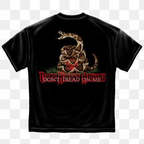 T-shirt - T-shirt Hoodie Gadsden Flag United States PNG