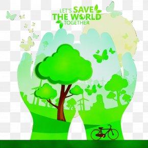 Plant Stem World - Arbor Day PNG