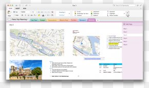OneNote - Microsoft OneNote MacOS Microsoft Office Template PNG
