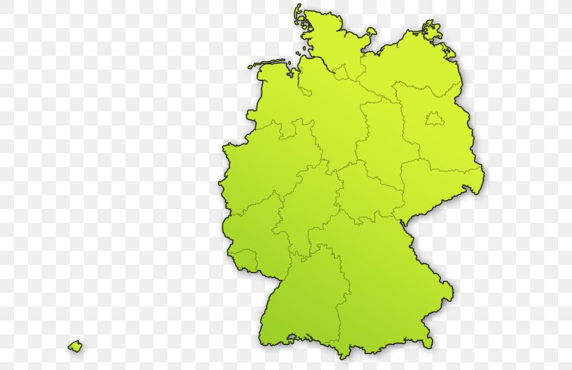 Berlin Brandenburg Map States Of Germany The Very Quiet ...