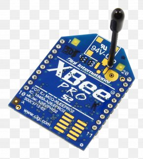 Long Range - Microcontroller Zigbee XBee Wireless Aerials PNG