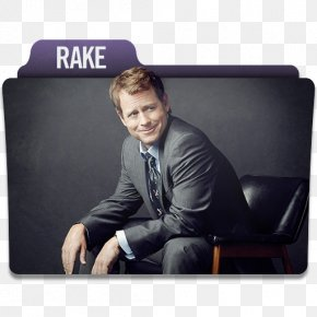 Rake - Gentleman Technology Sitting PNG