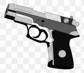 Gun Control - Trigger Firearm Revolver Air Gun PNG