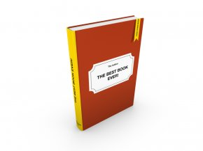 Graphics Of Books - Hardcover Book Cover 3D Computer Graphics Clip Art PNG