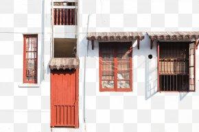 House Windows - Window Door Facade PNG