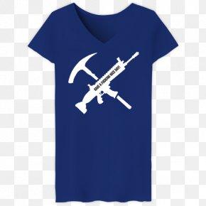 T-shirt - Fortnite Battle Royale T-shirt Pickaxe Tool PNG