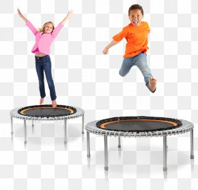 Children Playing - Trampoline Sport Jumping Trampette Diving Boards PNG