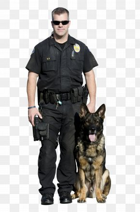 Law Enforcement - German Shepherd Malinois Dog Police Dog Police Officer PNG