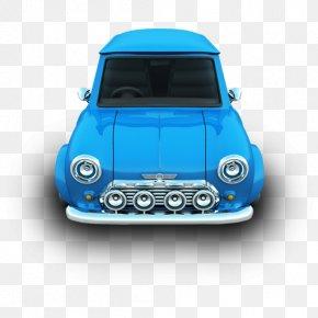 Mini - Blue Mini Vehicle Door Automotive Exterior PNG