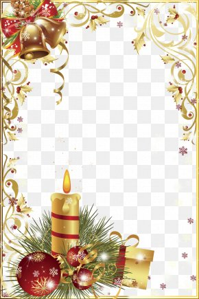 Christmas Frame Graphic Design Image PNG