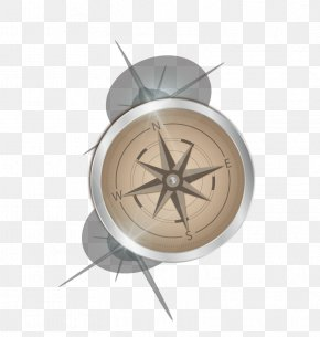 Vector Compass - Compass Euclidean Vector Light Metal PNG