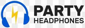 Headphones - Headphones Wireless Silent Disco Apple Earbuds Logo PNG