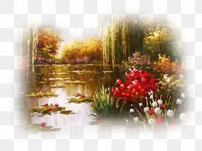 Autumn - Landscape Autumn Painting PNG