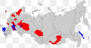 Russia - Russian Legislative Election, 2016 Map Soviet Union Administrative Division PNG