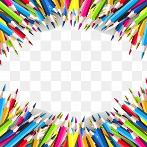 Colorful Pencil - School Pencil Royalty-free Drawing PNG
