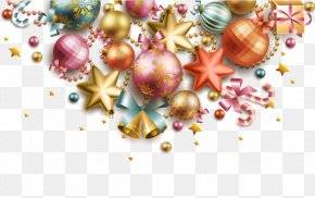 Vector Christmas Ball - Christmas Card Greeting Card Wedding Invitation PNG
