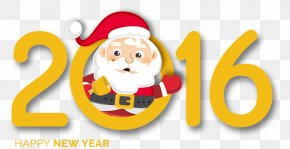 2016 Christmas Fonts - Santa Claus Christmas Typeface Font PNG