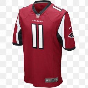 Sports Uniform Muckup - Atlanta Falcons NFL T-shirt Jersey Nike PNG