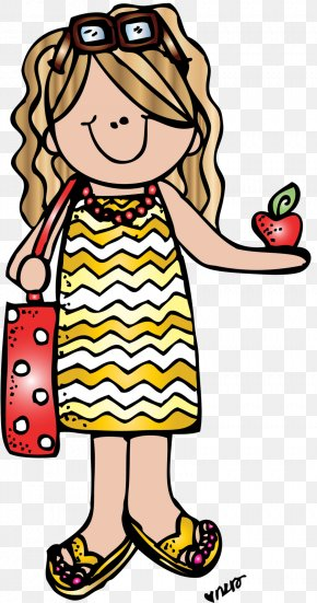 Teacher - Student Teacher Clip Art For Summer Clip Art PNG