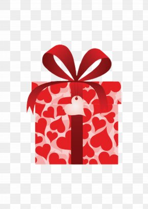 Gift Box Gift Box - Valentines Day Gift Box Heart PNG