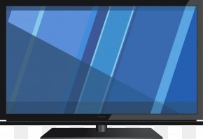 TV - LED-backlit LCD Television Set Computer Monitor Color Television PNG