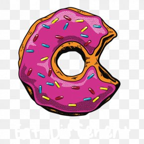 Simpson Donut - Donuts Homer Simpson Drawing Render PNG