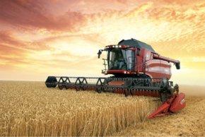 Agriculture - International Harvester John Deere Case IH Farmall Combine Harvester PNG