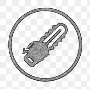 Padlock Pipe Wrench - Building Icon Chainsaw Icon Construction Icon PNG