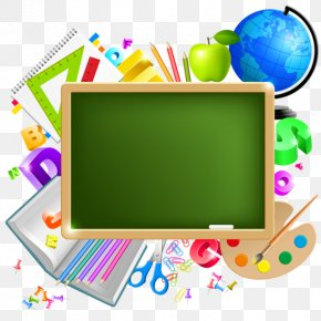 Back To School Learning - School Supplies Student Education Clip Art PNG