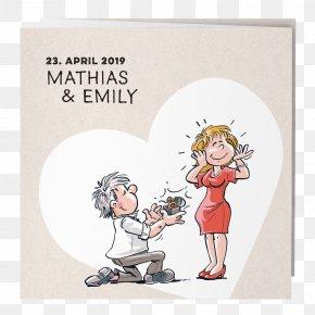 Wedding - Comics Marriage Newlywed Wedding Illustration PNG