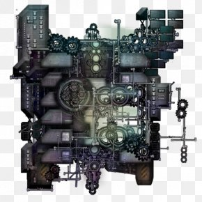 Engine - Engine Mother Ship Space Pirates And Zombies 2 Clockwork PNG