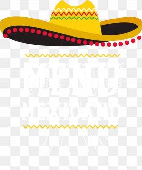 Mexico Menu Label - Mexican Cuisine Taco Enchilada Fajita Mexico Lindo PNG
