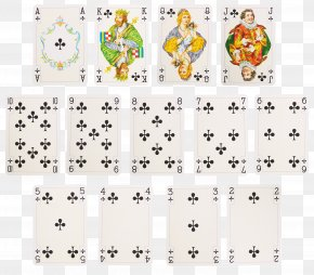 Playing Cards - Textile White Animal Pattern PNG