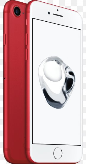 Apple IPhone 7 Telephone Product Red Special Edition PNG