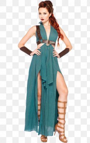 Dress - Costume Party Xena: Warrior Princess Dress Woman PNG
