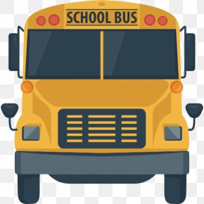 School Bus - School Bus Taxi Student Icon PNG