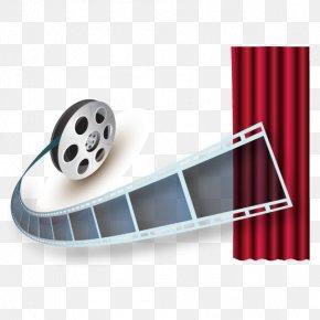 Vintage Footage Vector - Film Festival Download Service PNG