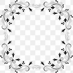 Flower - Borders And Frames Floral Design Clip Art PNG