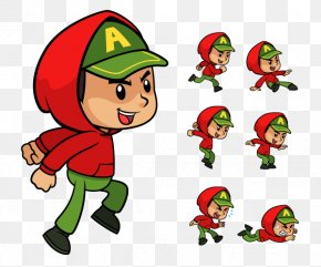2d Game Character Sprites - Hoodie Sprite 2D Computer Graphics Clip Art PNG