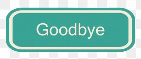 Goodbye Vector Label - Royalty-free Illustration PNG