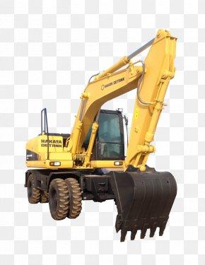 Excavator - Heavy Machinery Bulldozer Excavator Wheel Tractor-scraper PNG