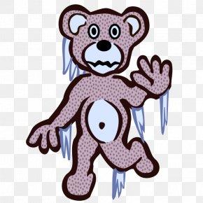 Frozen Cartoon Bear - Polar Bear Giant Panda Frozen Film Series Clip Art PNG