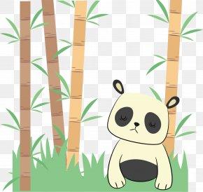 Unhappy Panda - Bear Giant Panda Red Panda PNG