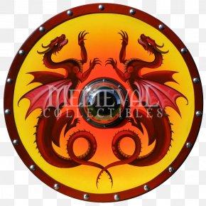 Beautifully Shield - Shield Dragon Buckler Viking Scutum PNG