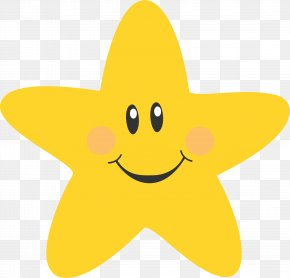 Star - Smiley Five Senses Education Star Clip Art PNG