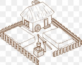 Farmhouse Cliparts - Farm Clip Art PNG